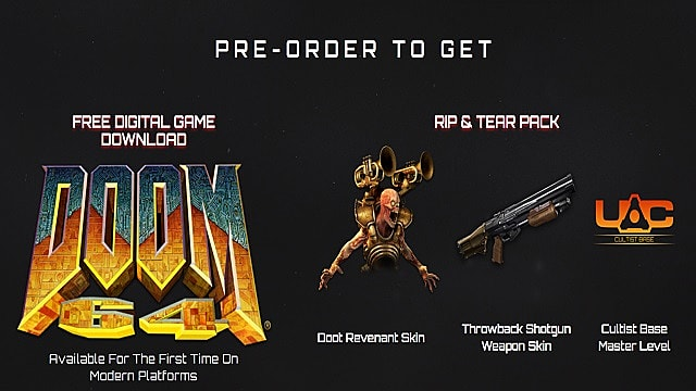 Doom Eternal Pre Order Editions And Bonuses Guide