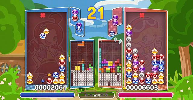 Puyo Puyo Tetris, Tetris