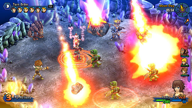 Rainbow Skies Battle Mage Casting Meteor Attack