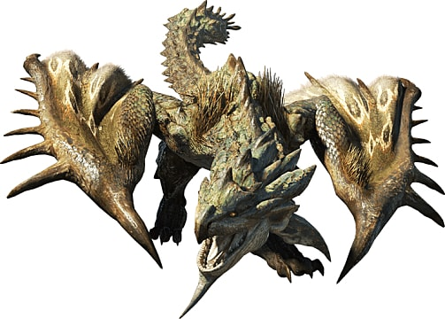 A Rathian Roars in Monster Hunter World