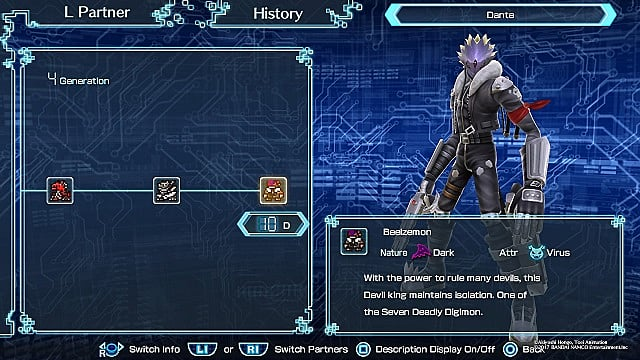 digimon world next order digivolution