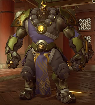 Reinhardt year of the rooster skin