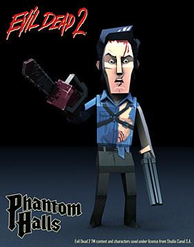 Evil Dead, Evil Dead 2, Phantom Halls