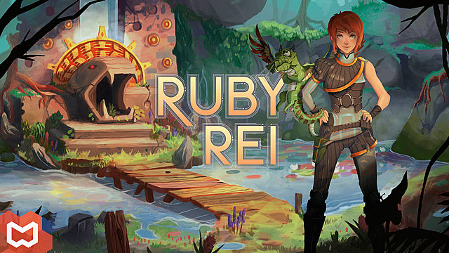 Ruby Rei, cover art, poster