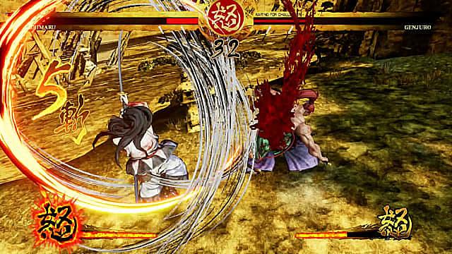 Haohmaru fights Genjuro in Samurai Showdown Switch.