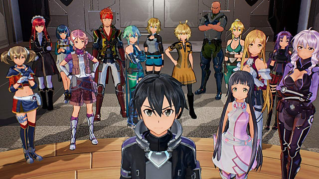 Sword Art Online: Fatal Bullet features a wide and varying cast of characters
