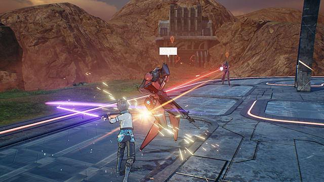 Utilizing Sword Art Online: Fatal Bullet weaponry to take on traditional JRPG enemies