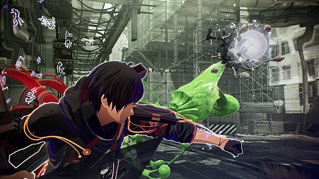 Yuito using Brain Crush on an Other in construction area.