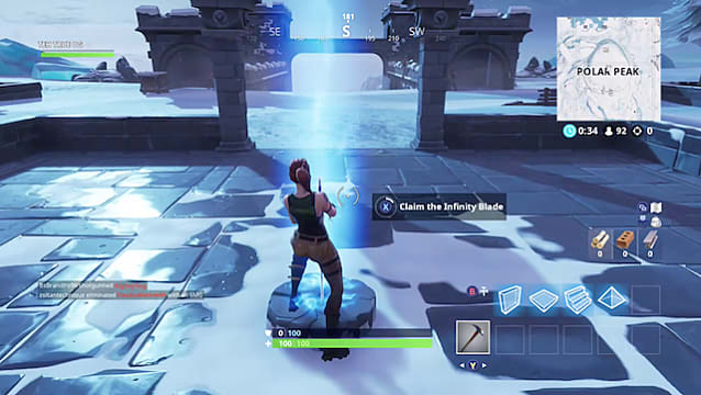 How to Get the Infinity Blade in Fortnite   Fortnite