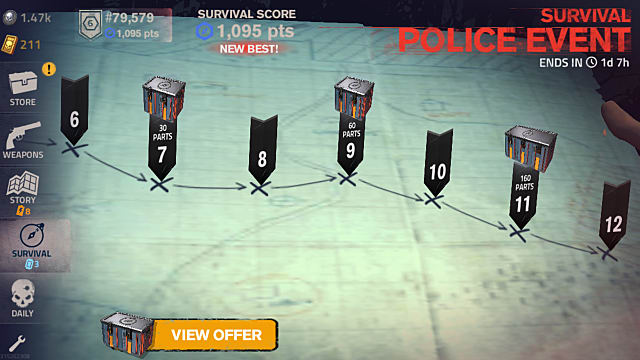 Play Survival Mode How to Upgrade and Build Weapons Into the Dead 2 Guide