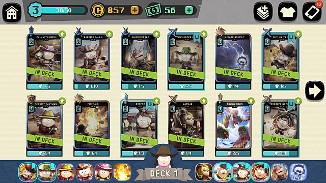 How to Build Better Decks of Cards in South Park Phone Destroyer