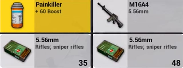 Four useful items that can be acquired in PUBG Mobile