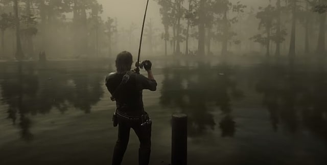Red Dead Online fishing