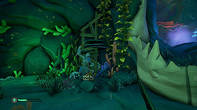 Megalodon jaw in the Shrine of Hungering.