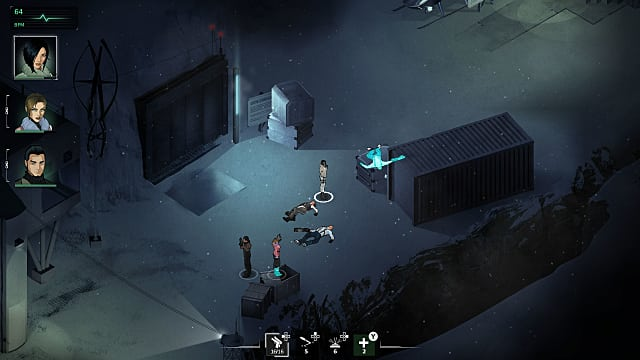 The new isometric view in Fear Effect Sedna is a departure from the previous Fear Effect games