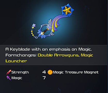 kingdom hearts 3 shooting star keyblade