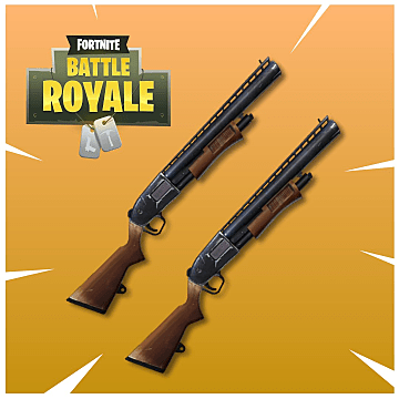 The brown shotguns that the blue pumps can replace in Fortnite's latest update