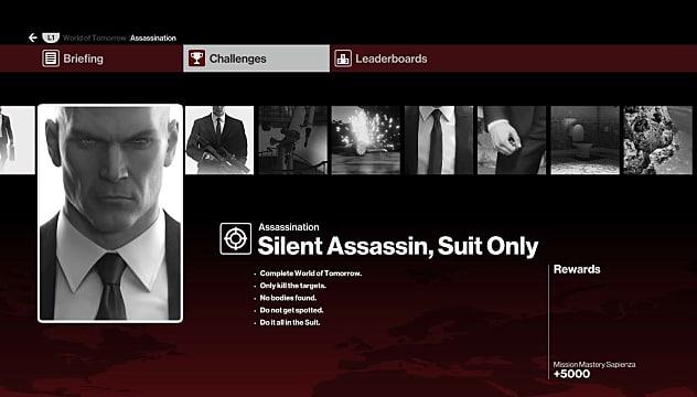 Hitman Episode 2 Silent Assassin Suit Only Challenge Hitman