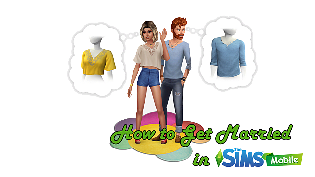How to Get Married in The Sims Mobile