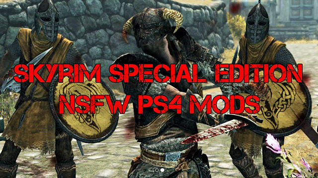 NSFW Skyrim Mods: A Look at the Limited Options Available