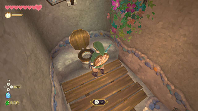 Skyward Sword HD toiler paper? Well, only if you want it to be