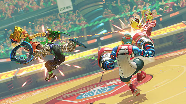 State of Nintendo Things to Improve On Motion Controls ARMS