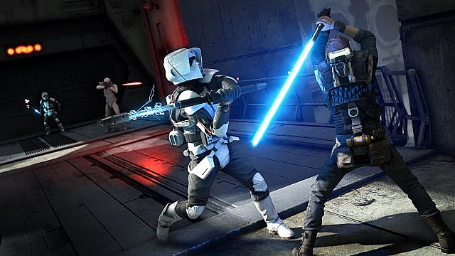 Star Wars Jedi Fallen Order Combat Tips: Cal fights stormtroopers