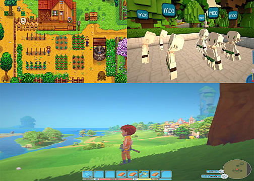 How Do Staxel And My Time At Portia Stand Up To Stardew Valley