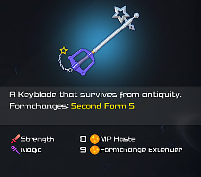 kh3 starlight keyblade