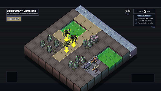 Deploying the best squad and best mechs in Into the Breach