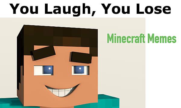 minecraft let me in meme