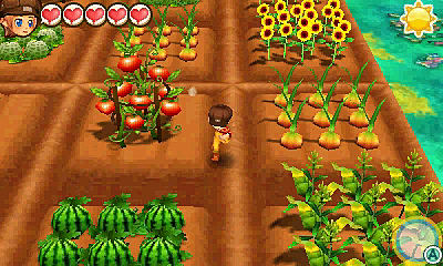 Story of Seasons Trio of Towns Review Gameplay