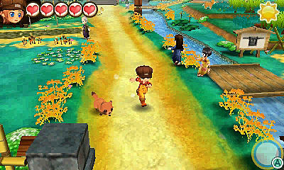 Story of Seasons Trio of Towns Review Walking Pet New Additions