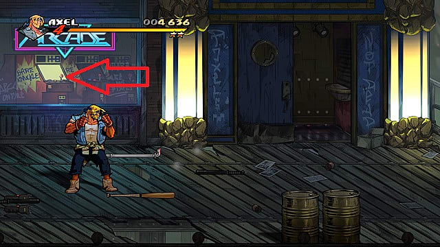 Streets of Rage 4 Arcade Machine 2 Stage 4