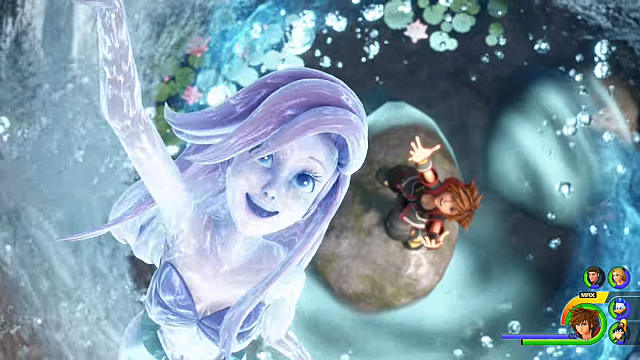 Ariel will be a new summon in Kingdom Hearts 3