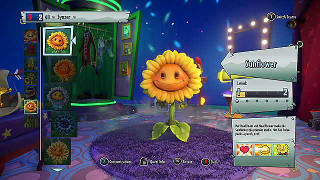 Superior Plants Vs Zombies Garden Warfare 2 Sunflower Class Guide | Plants Vs  Zombies Garden Warfare 2