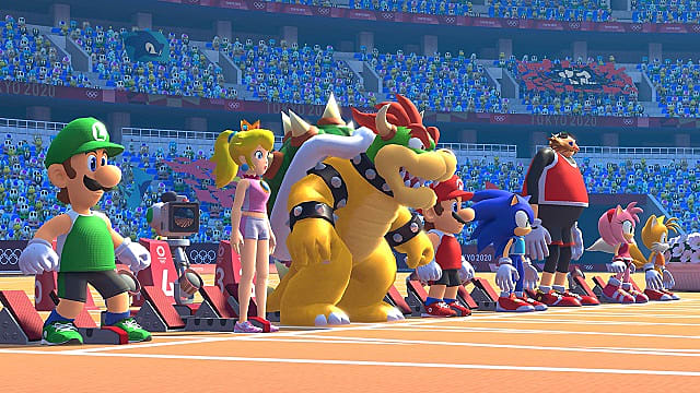E3 Games 2020.Mario Sonic At The Olympic Games Tokyo 2020 E3 2019