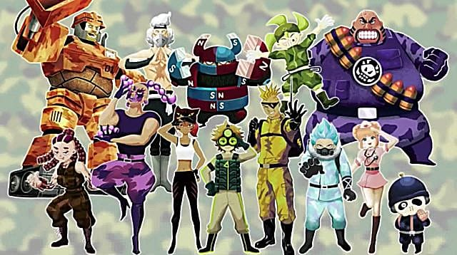 Tank Troopers characters.