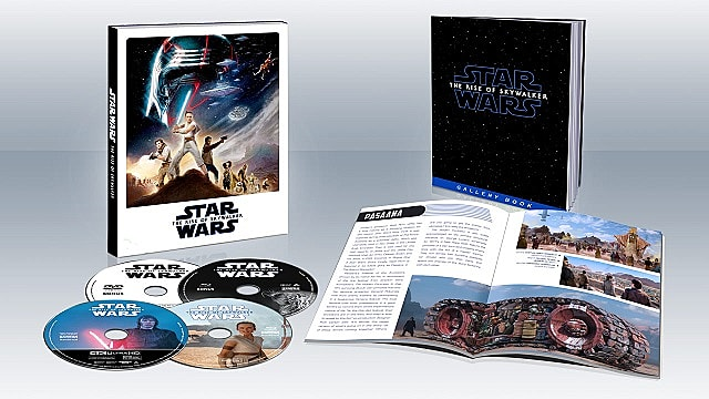 Target's special edition Bluray for The Rise of Skywalker home release.