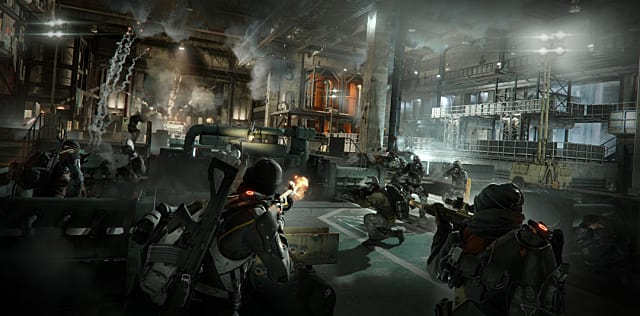 The Division, shooting, third person
