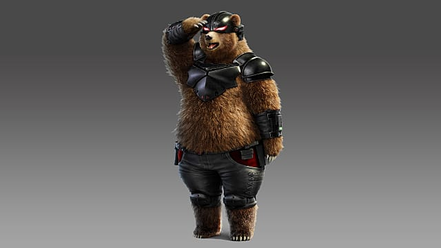 I couldn't imagine using another costume for Kuma.