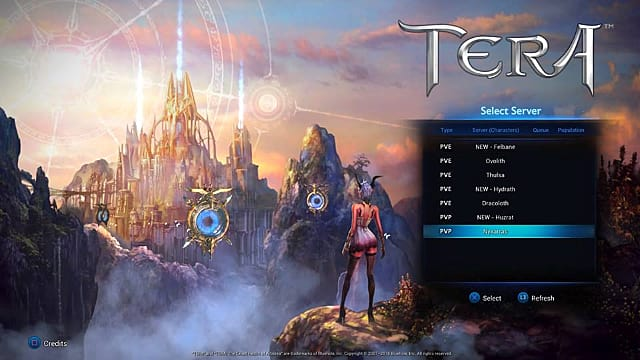 TERA PS4/Xbox One Review: A Faithful Transition from PC to Console