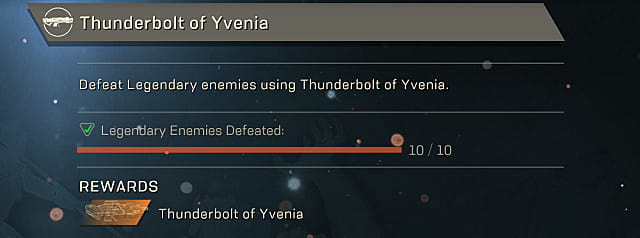 anthem thunderbolt of Yvenia blueprint
