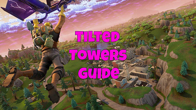 Fortnite Tilted Towers Landing And Gold Chest Guide Fortnite