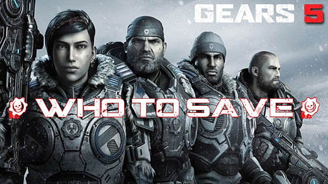 JD or Del? Who to Save in Gears 5