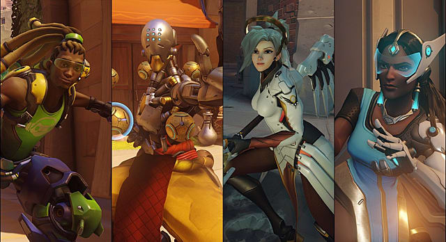 overwatch, characters