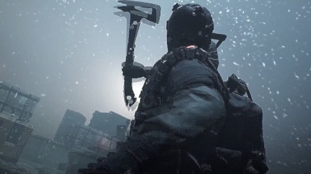 The Division, axe, snow