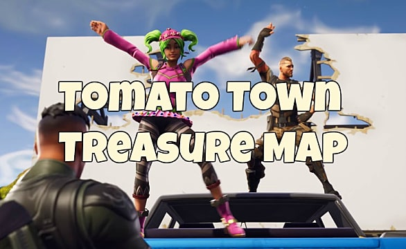 fortnite tomato town map loot location guide - fortnite follow the map in tomato town
