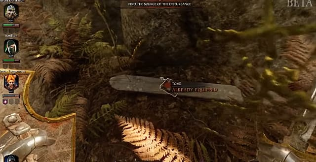 The spot where you'll find the third athel yenlui tome in Warhammer: Vermintide II