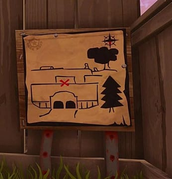 Risky Reels Treasure Map